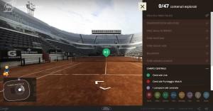 Un torneo multisensoriale al Foro Italiaco video 360 gradi milano modena torino