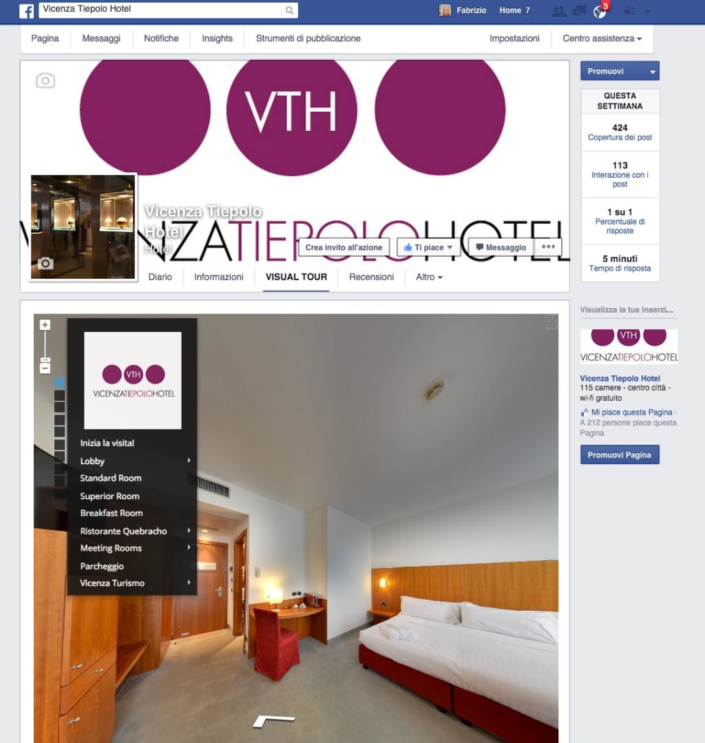 Tiepolo Vicenza Facebook