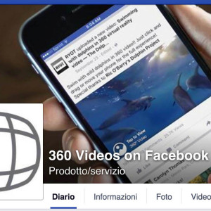Facebook  360 video360 QUADRATA video 360 gradi milano modena torino