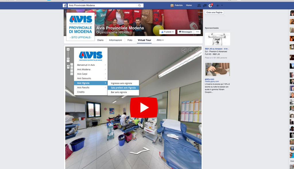 AVIS FACEBOOK virtual tour google