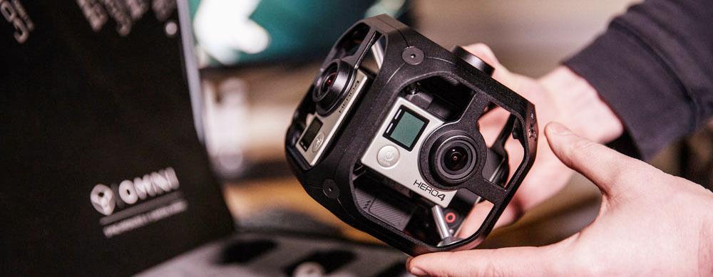 GoPro+Omni riprese video professionali vr 360