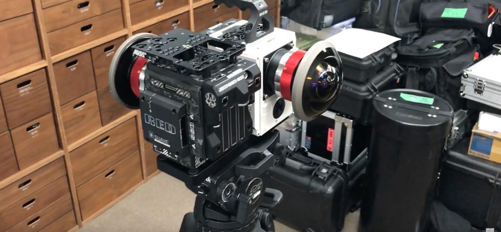 red VR produzione film cinema Vr 360 realtà virtuale