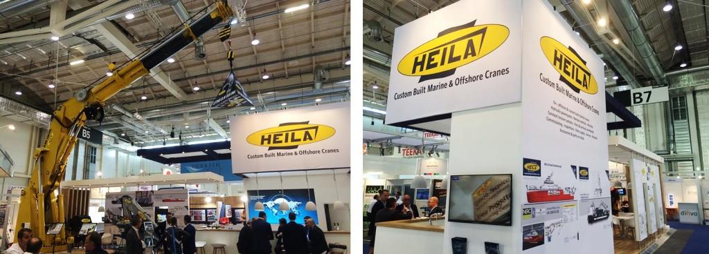 Heila Cranes in fiera ad Amburgo con VR video 360 Heila Cranes esperienza VideoVr