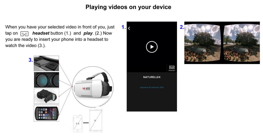 Guida gratuita per l'utilizzo off line di video VR 360