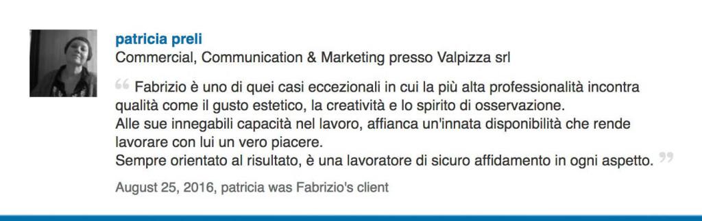 peli-valpizza recensione cliente video vr 360 servizi foto video