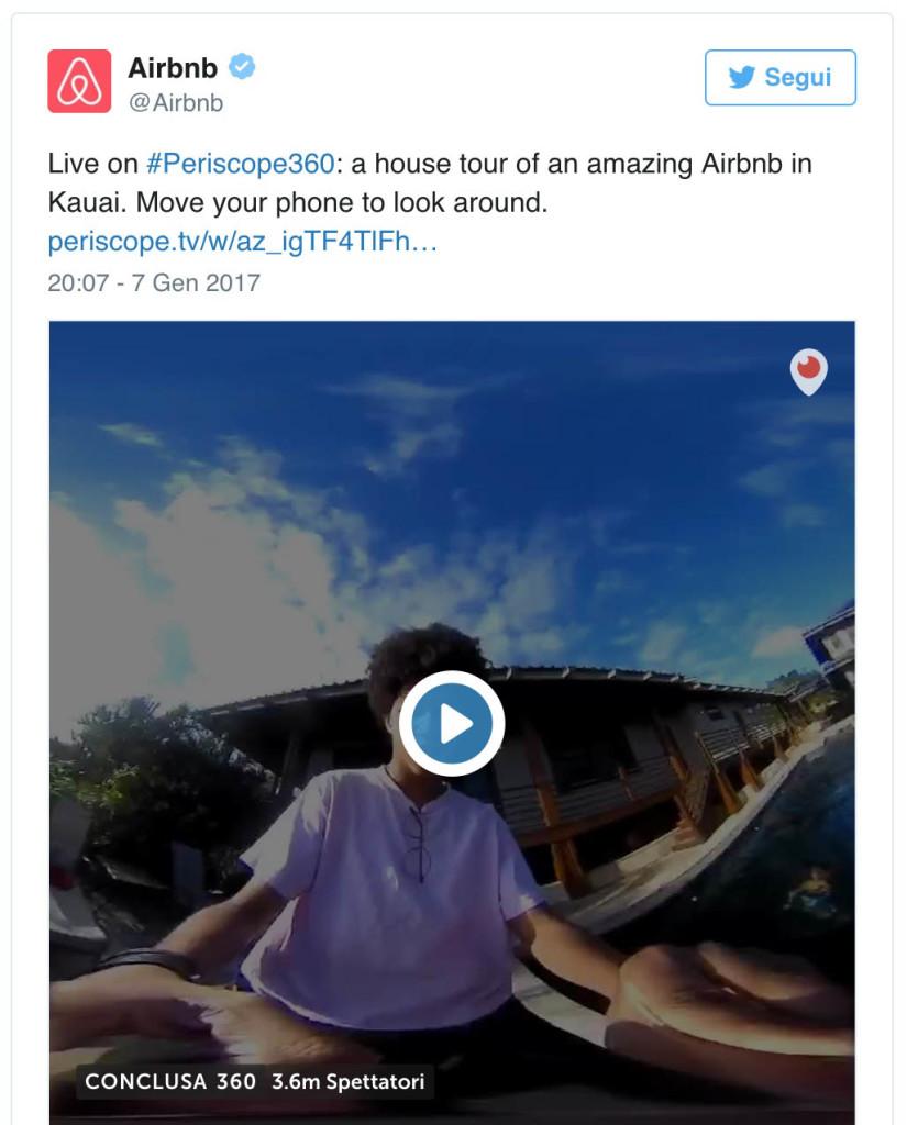 arbnb esempio video 360 2
