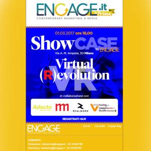 Engage Showcase, VisualPor360 e la Virtual (R)evolution