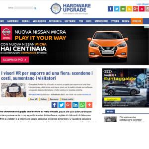 Hardwear articolo vr giochipreziosi video aziendale vr 360 quad