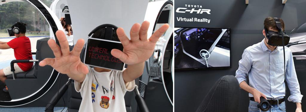 in fiera con la realtà virtuale realtà aumentata Fiera Milano, Torino Roma Bologna