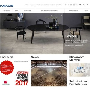 Video 360 Marazzi ceramica virtual tour showroom relatà virtuale