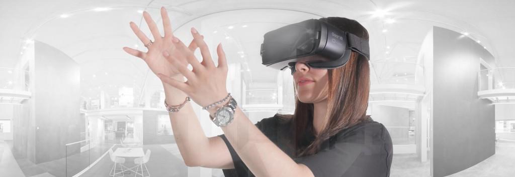 BANNER TEST realtà virtuale fiera produzione video vr 360
