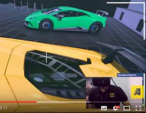 lamborghini VR raltà virtuale