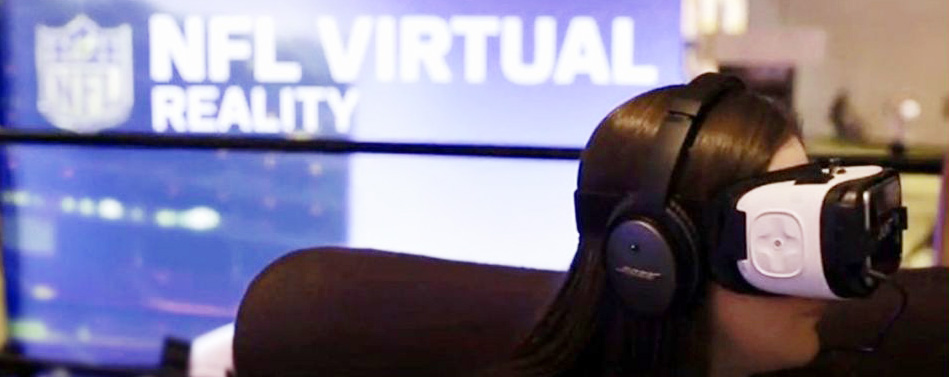 nfl video cardboard riprese video produzione video 360 gradi realtà virtuale Milano