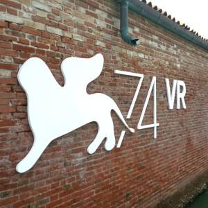 L'isola di Lazzareto Vecchio, che ospita la sezione della Mostra del Cinema dedicata alla realtà virtuale.