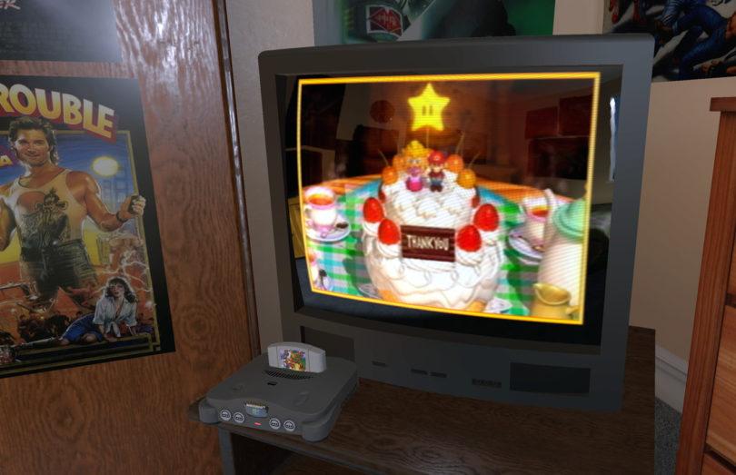 emu vr Nella tua stanza, pieni anni 80 con la realtà virtuale