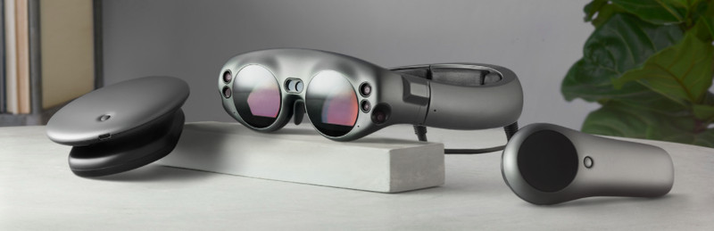 magic leap occhiale realtà aumentata e mixed reality 1
