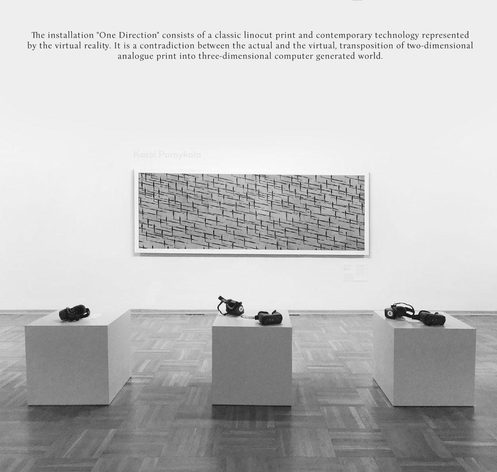 Vr experience nei musei con l'installazione di Karol Pomykała