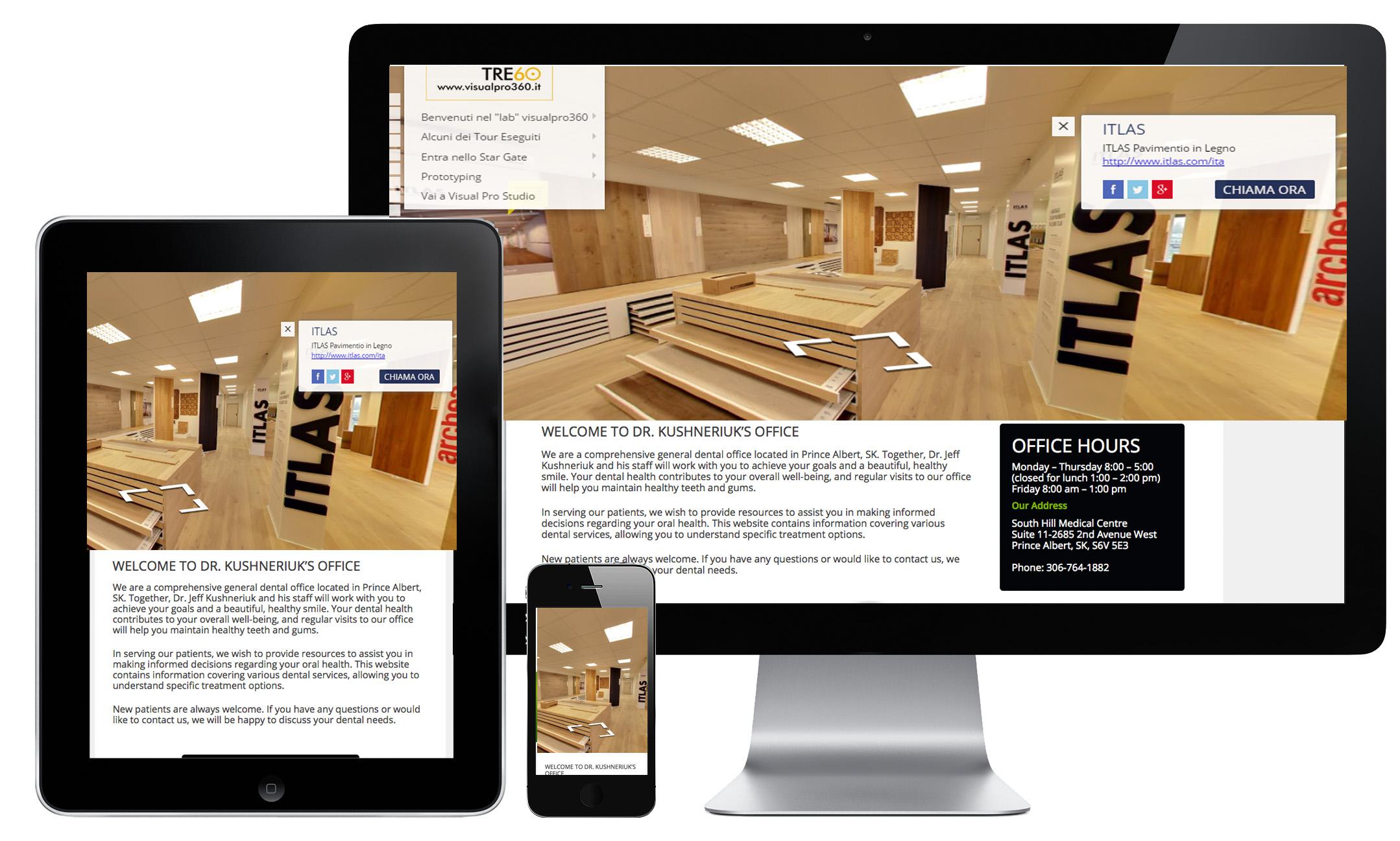 itlas negozio stabilimento modena | tour virtuale 360