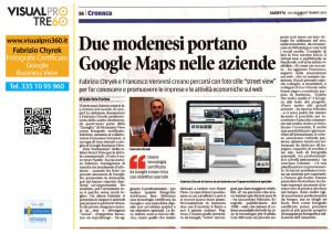 Due modenesi portano Google Maps nelle aziende
