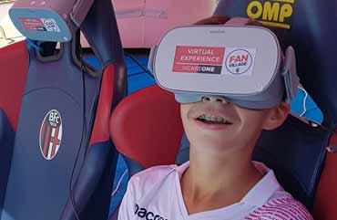 Virtual Experience nel dietro le quinte del Bologna Calcio