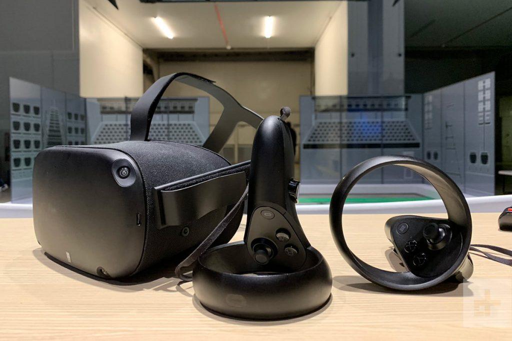 Oculus Quest anteprima e test. Una nuova esperienza VR progettata per il mobile e, senza cavi e con un sistema che mappa lo spazio circostante. video vr Milano