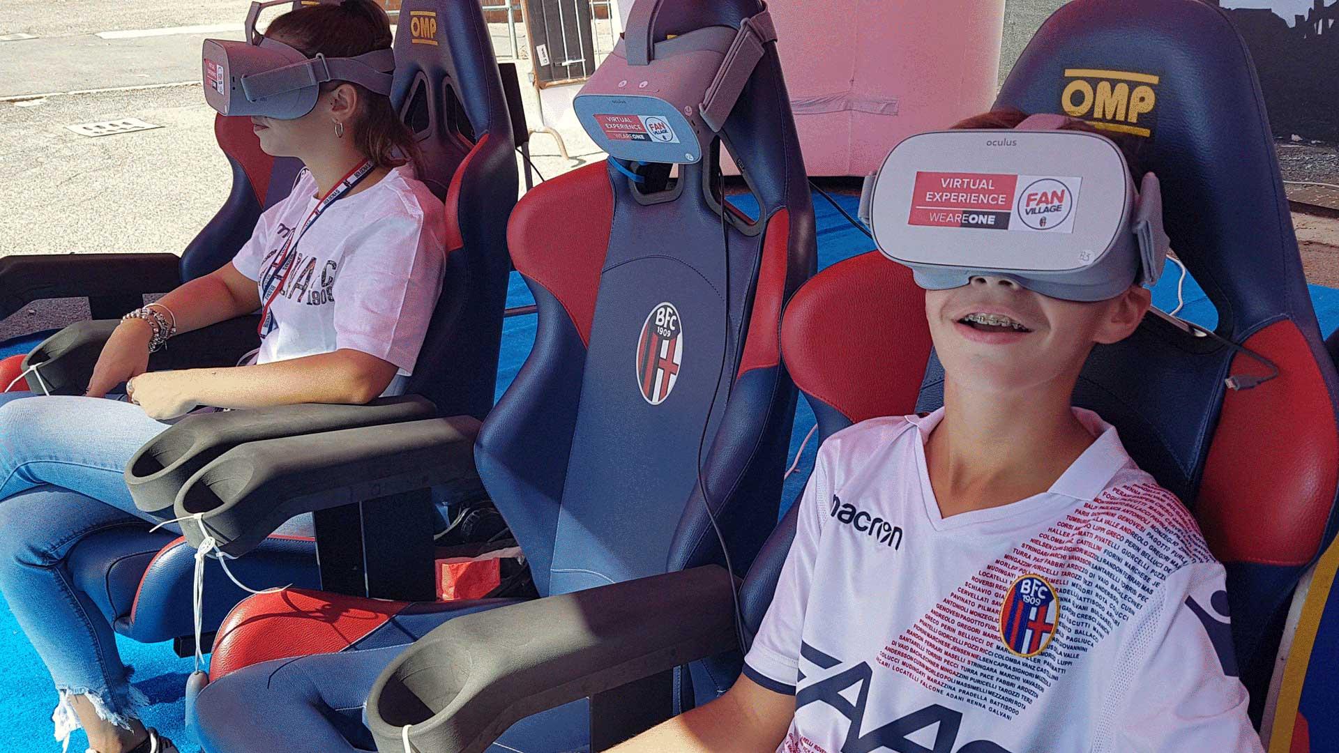 realtà Virtuale Milano produzione video per aziende Roma Torino