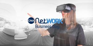 CNA Network Business Day. Visualpro 360 sponsor ufficiale mostra l'uso della realtà virtuale per il business.