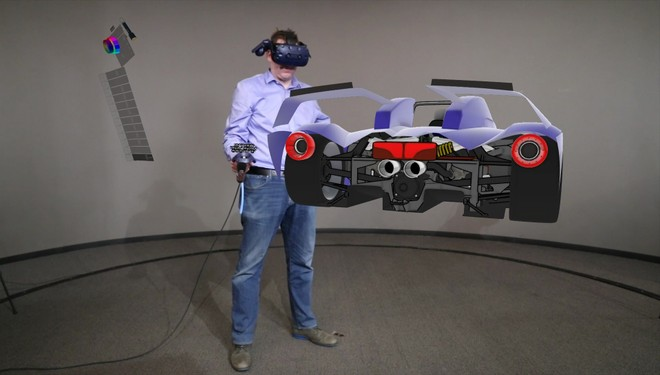 ford introduce la realtà virtuale nella progettazione automobilistica con Gravity Scketch- Visualpro360- Virtual-Reality-modena