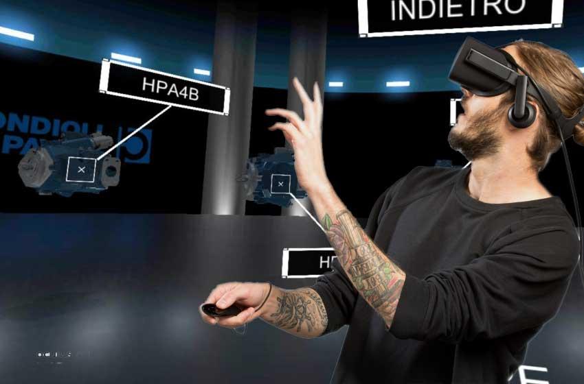 vr ar app per l'industria visualpro 360