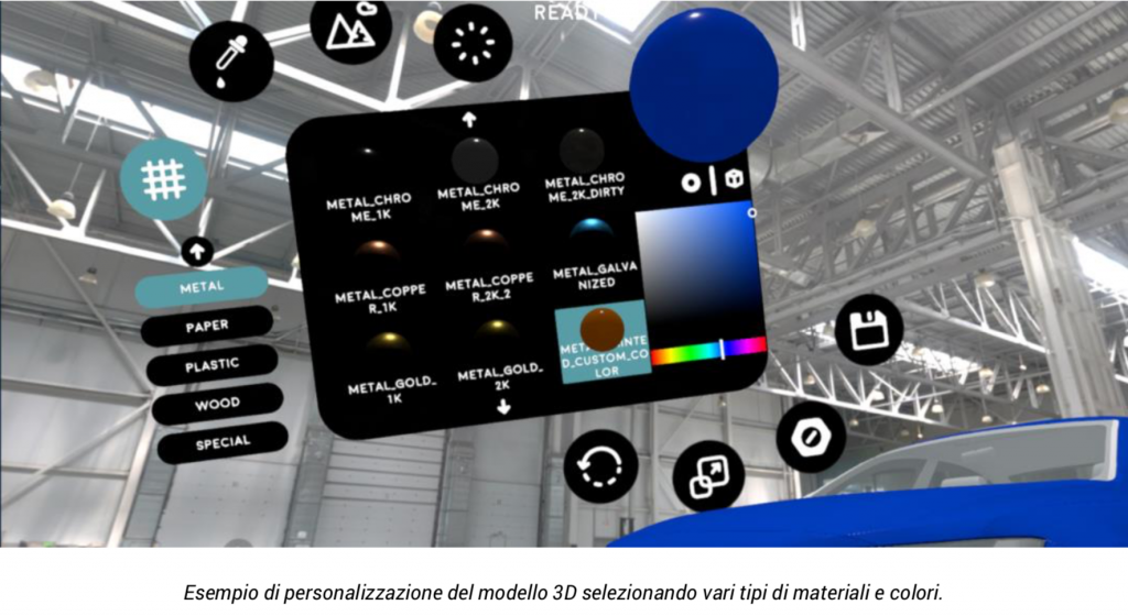 La piattaforma FrameVR è un'architettura software di base sulla quale è possibile applicare le personalizzazioni per creare una piattaforma software VR personalizzata.