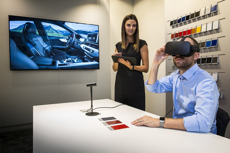 Audi's first Virtual Reality showroom in Centurion, Pretoria, is now operational. Picture SUPPLIED visualpro360
