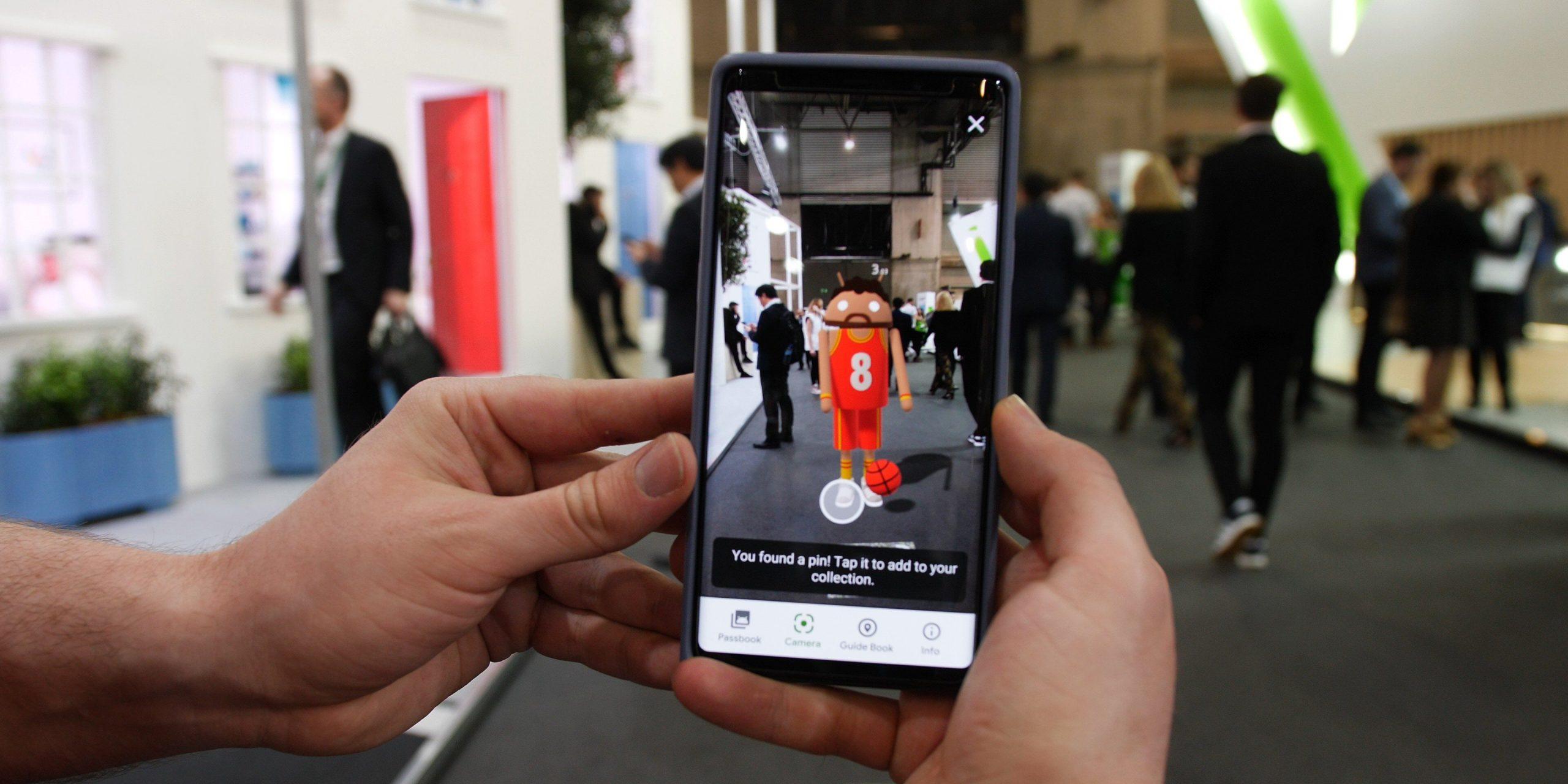 La magia della realtà aumentata Google aggiorna ARCore realtà aumentata google nuova Android-Partner-Walk-ARCore