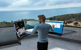 Lavoro remoto con oculus realtà virtuale per aziende 2